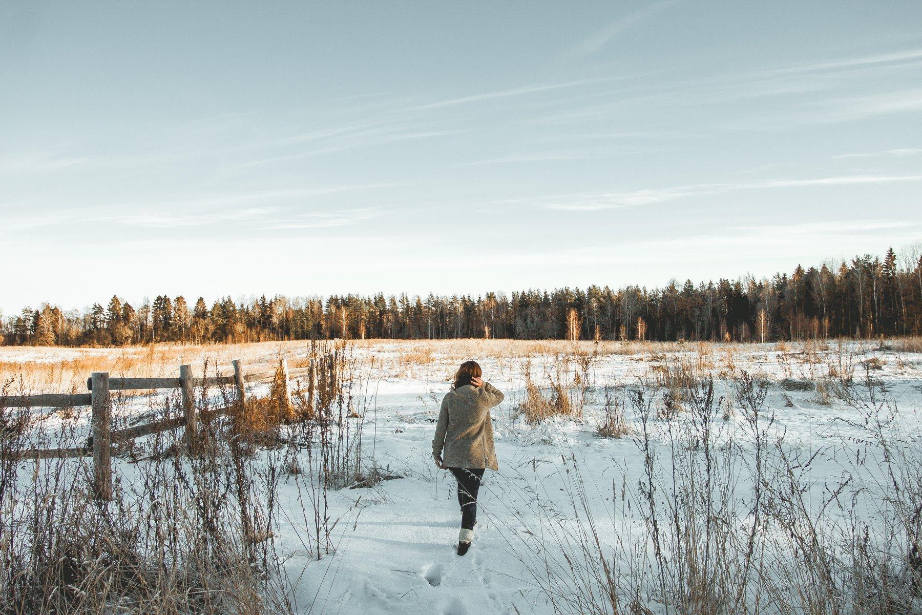 фото, пейзаж, трэвел, девушка, зима, цвет, свет, россия, красота, Олег Карсаков