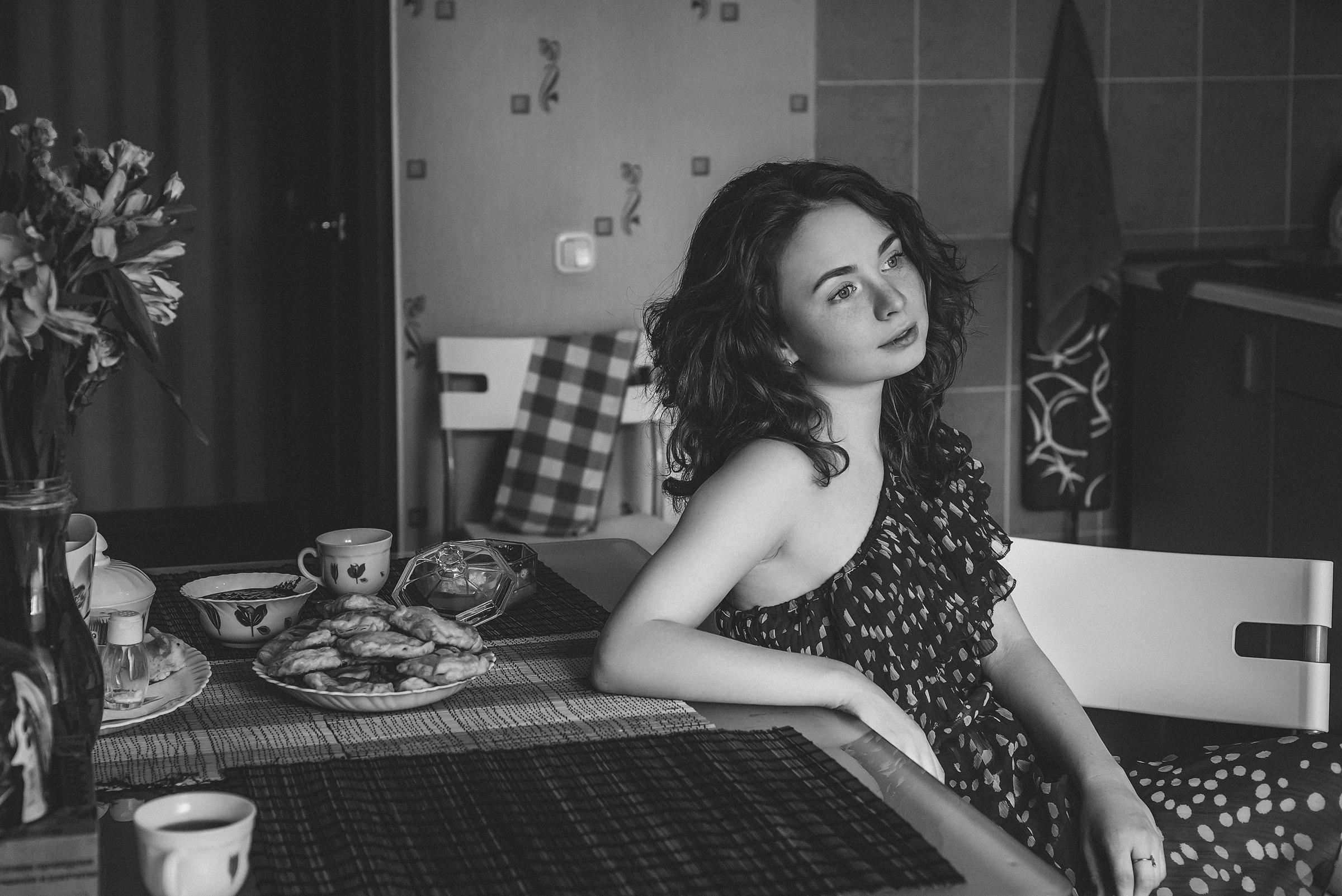 портрет, арт, модель, portrait, art, Анна Асанова