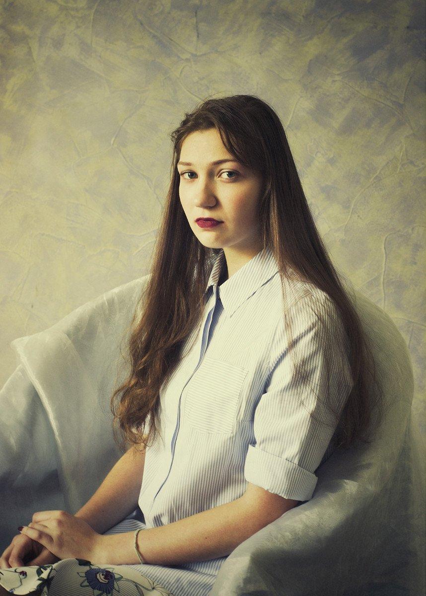 девушка, портрет, взгляд, настроение, valeko