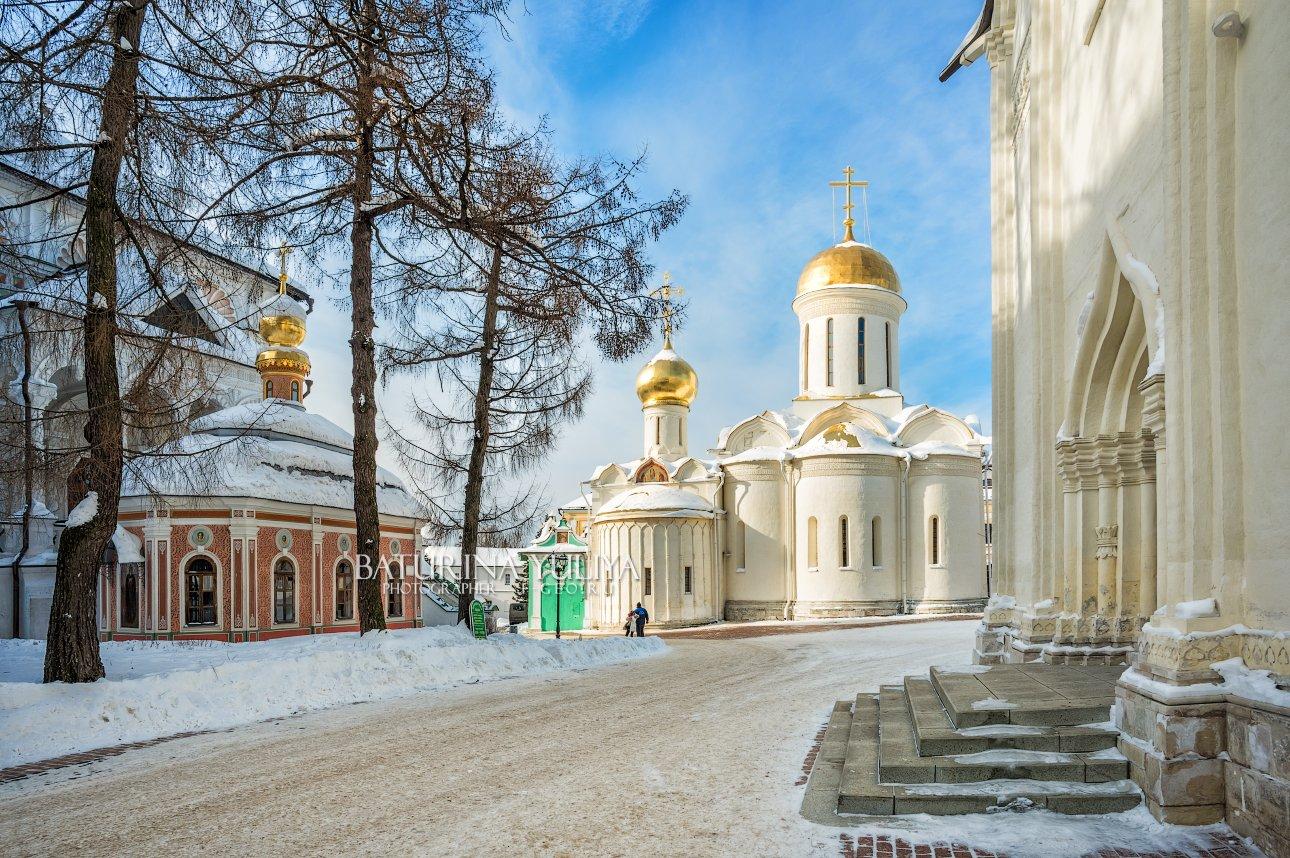 сергиев посад, лавра, зима, Юлия Батурина