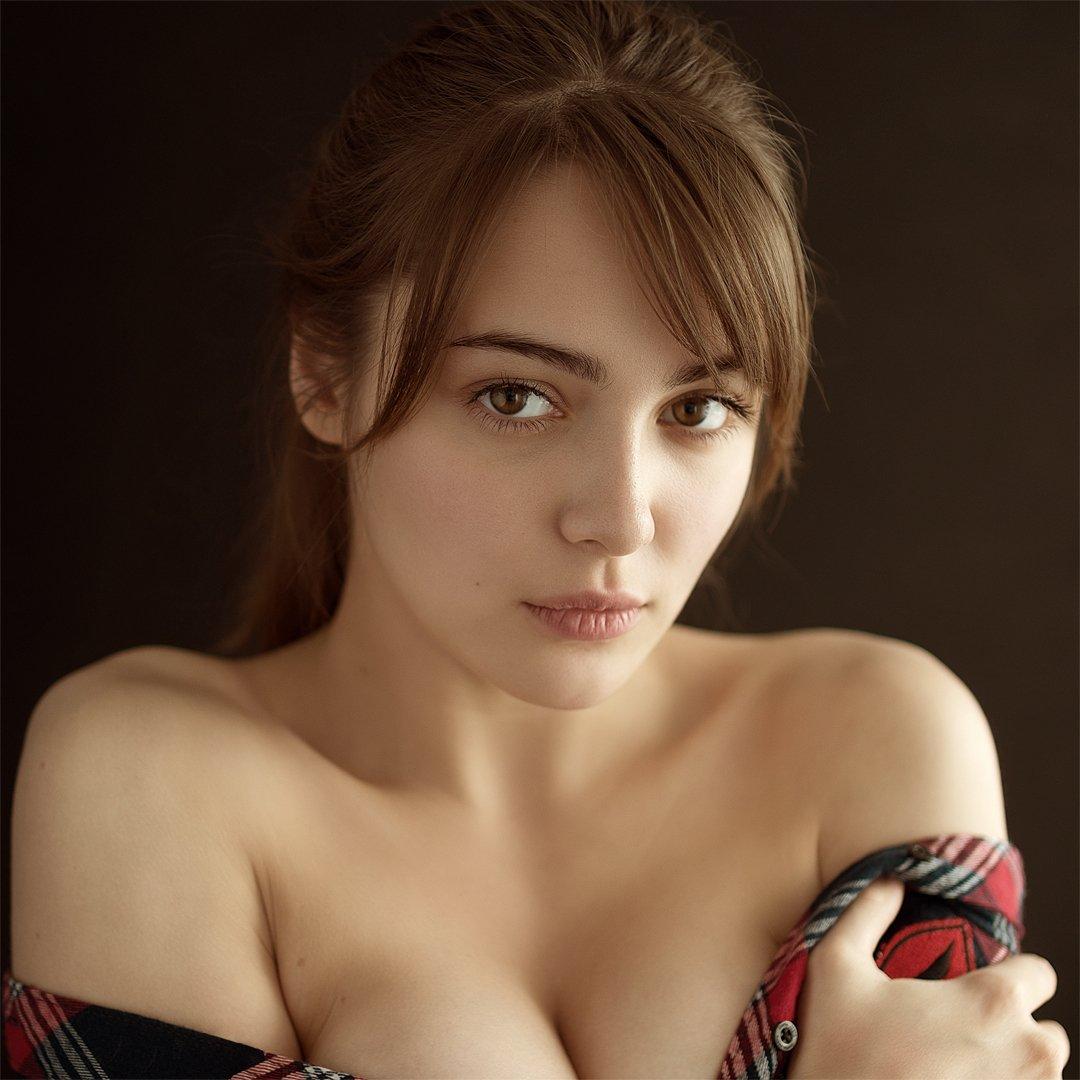 девушка, модель, красивая, молодая, естественный свет, sigma, прекрасная, взгляд, портрет, лицо, Евгений Сибиряев