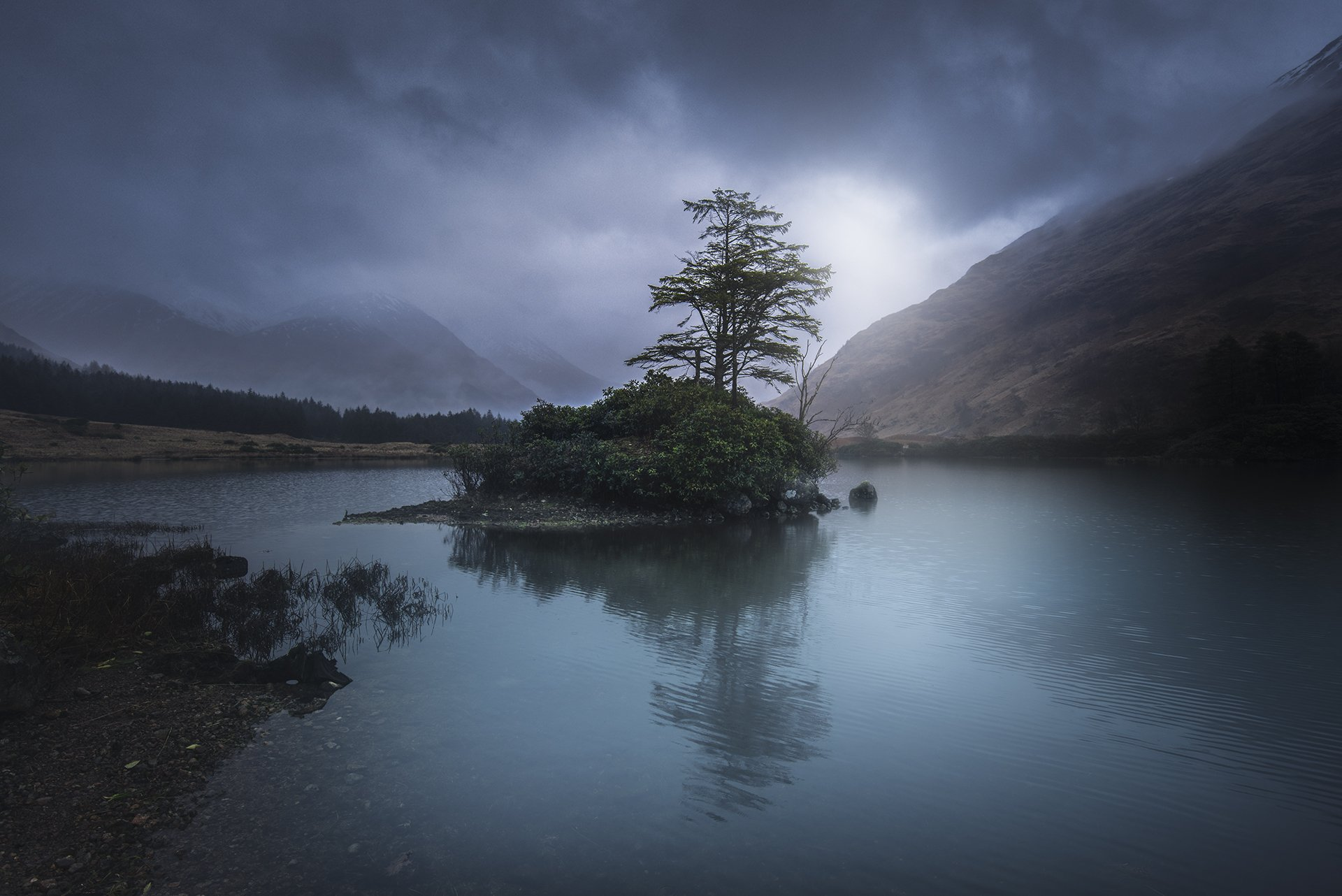 scotland, isleofskye,  nature, landscape, пейзаж, clouds, dramatic, Genadi Dochev
