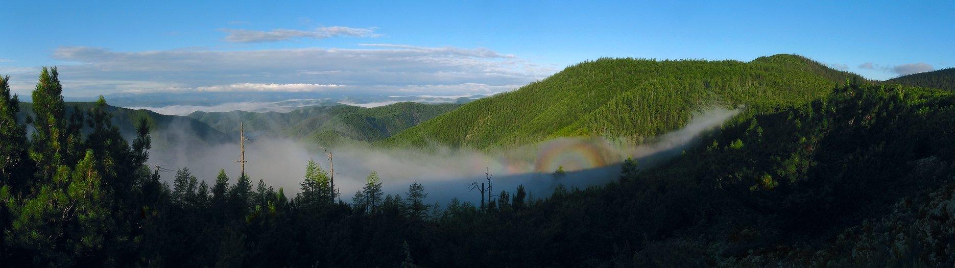 сихотэ-алинь, горы, глория, утро, туман, Alexander Gil