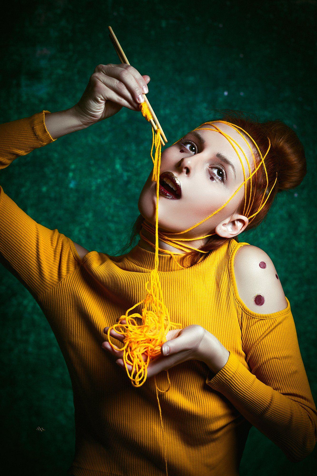 woman, portrait, studio, art, beauty, conceptual, Руслан Болгов (Axe)