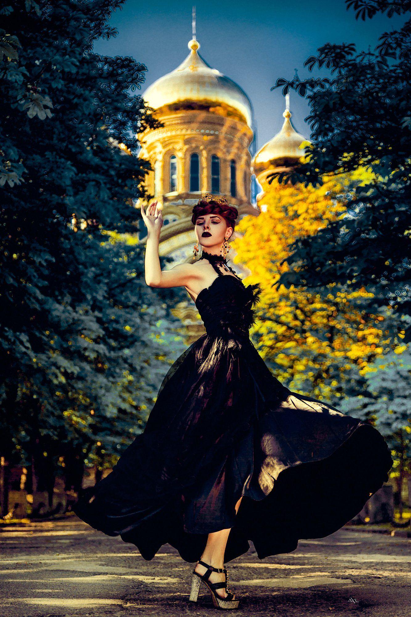 woman, fashion, art, church, Руслан Болгов (Axe)