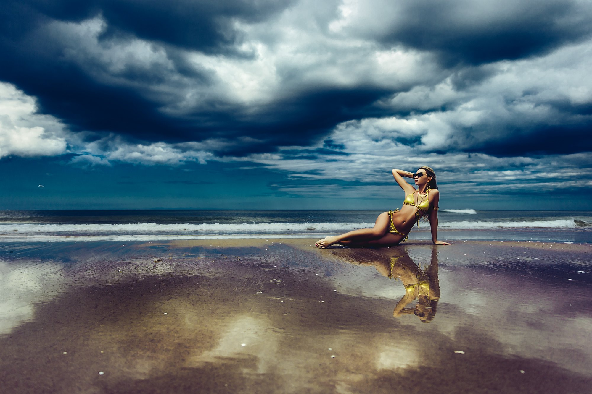 woman, art, portrait, fashion, beauty, beach, sea, natural light, Руслан Болгов (Axe)