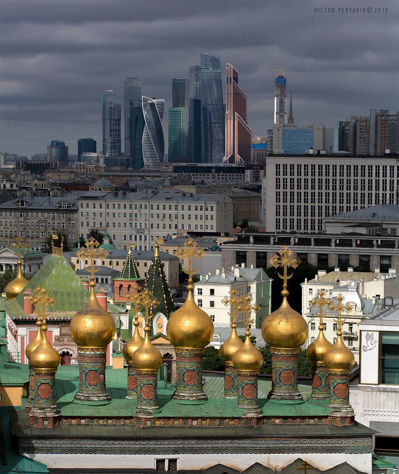 москва город архитектура, Виктор Перякин