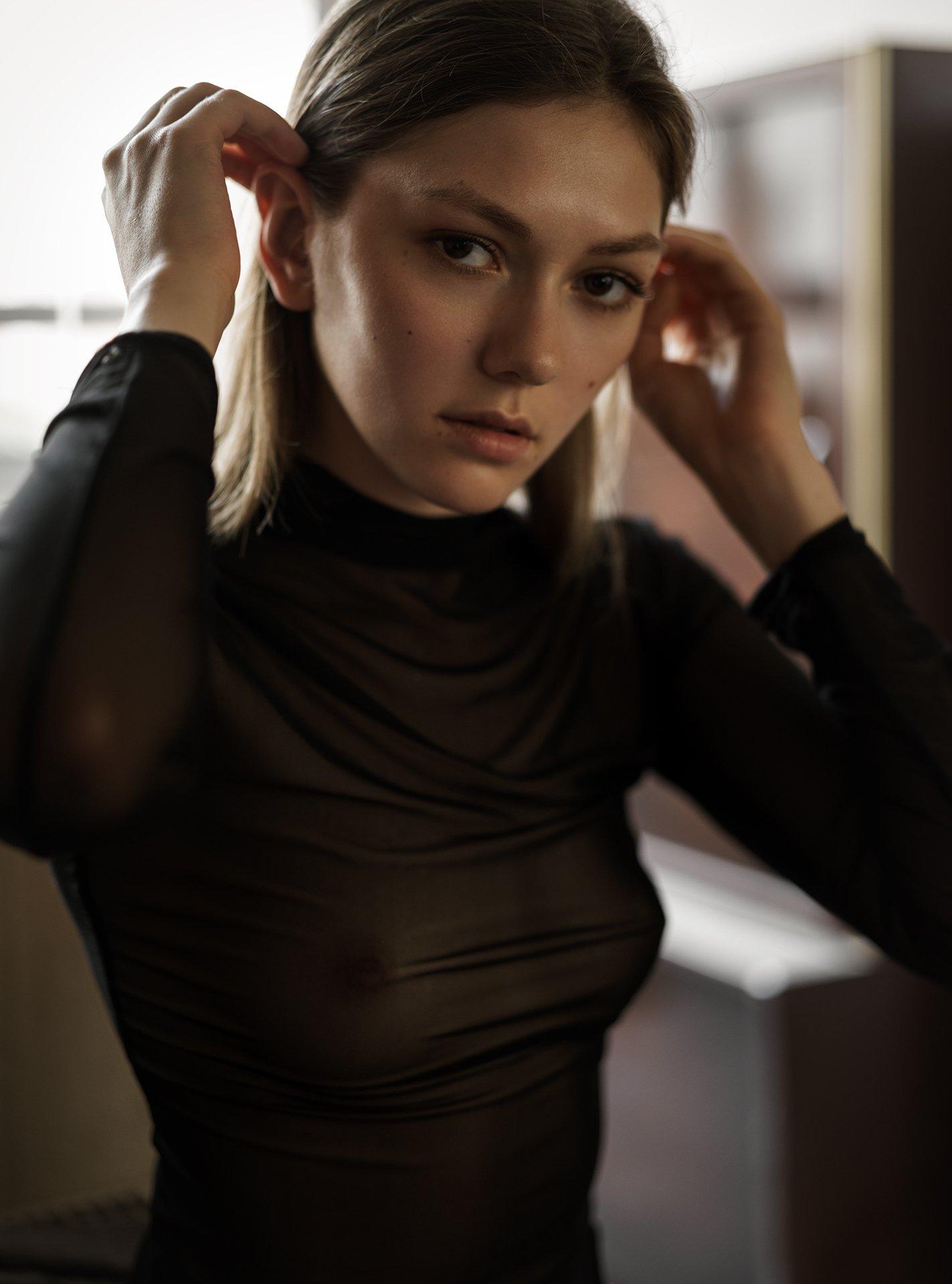 girl, коверильича, portrait, at home, nude, natural light, sonyphotography, model, Роман Филиппов