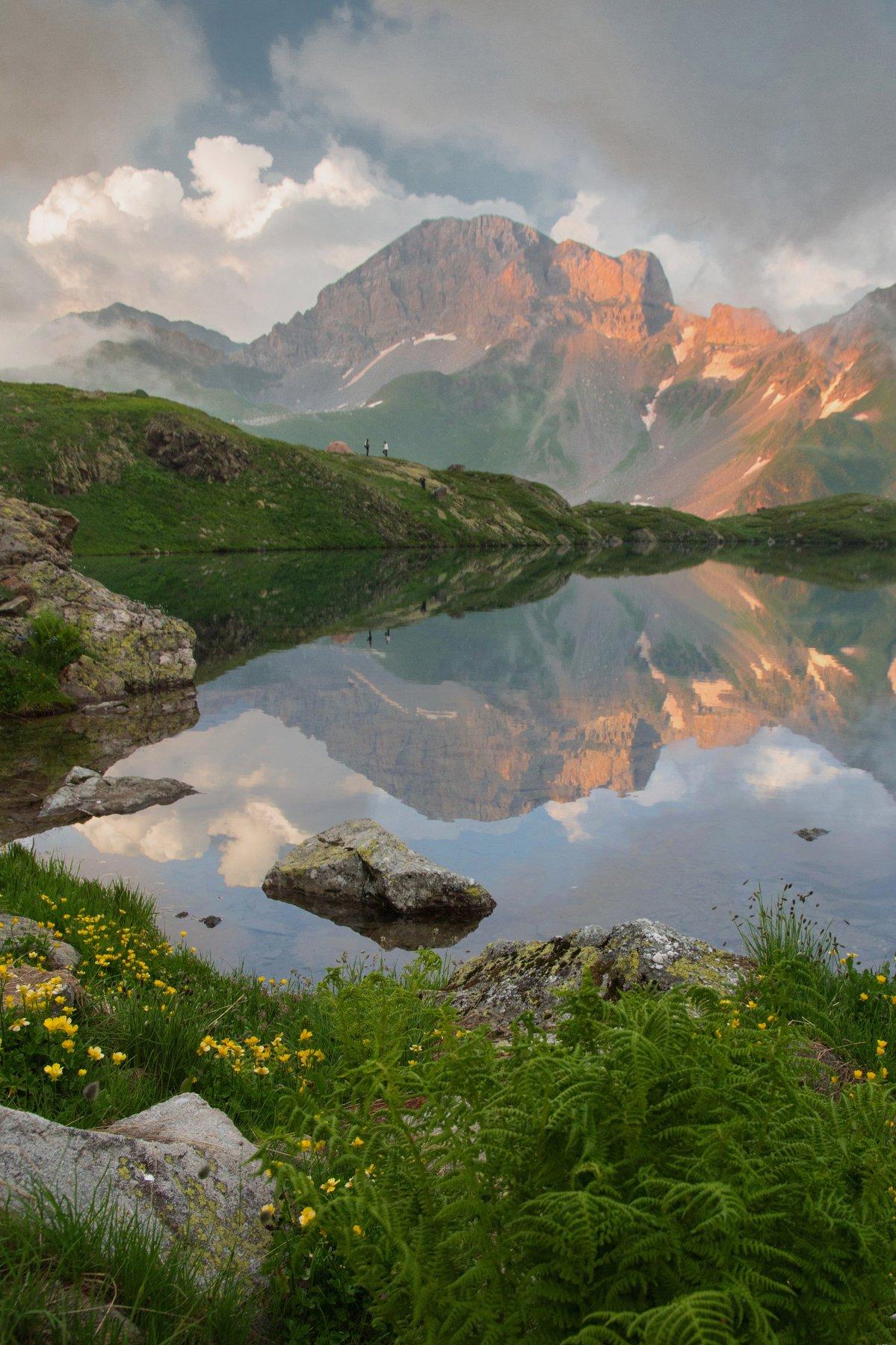 горы,вечер, aleksei