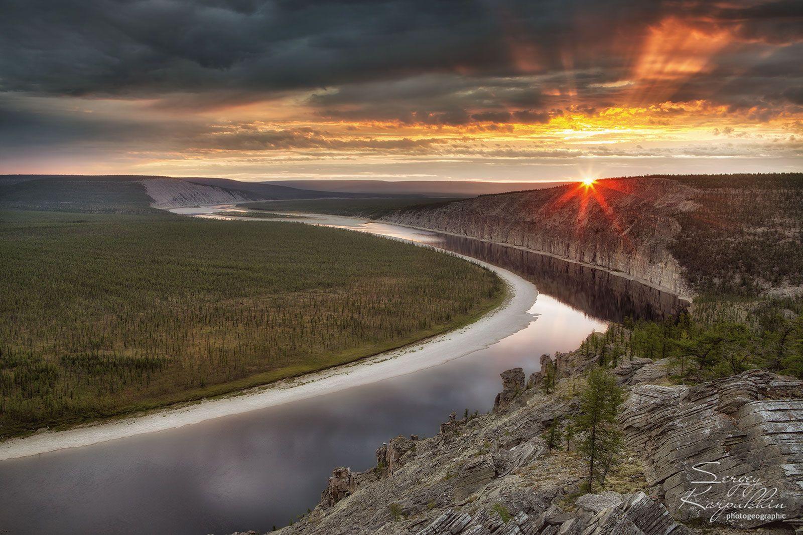 якутия, оленёк, Сергей Карпухин