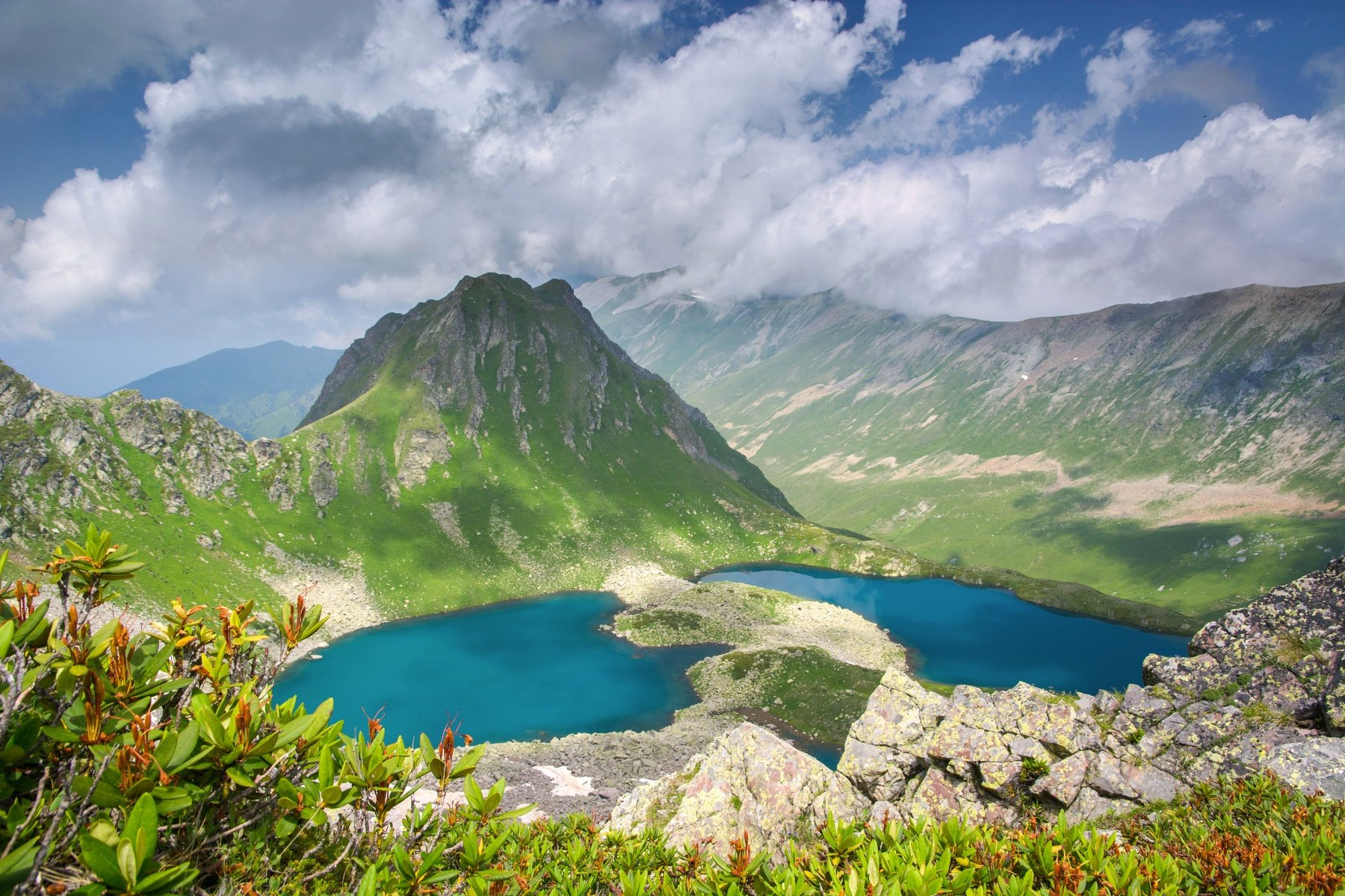 горы,озеро, aleksei