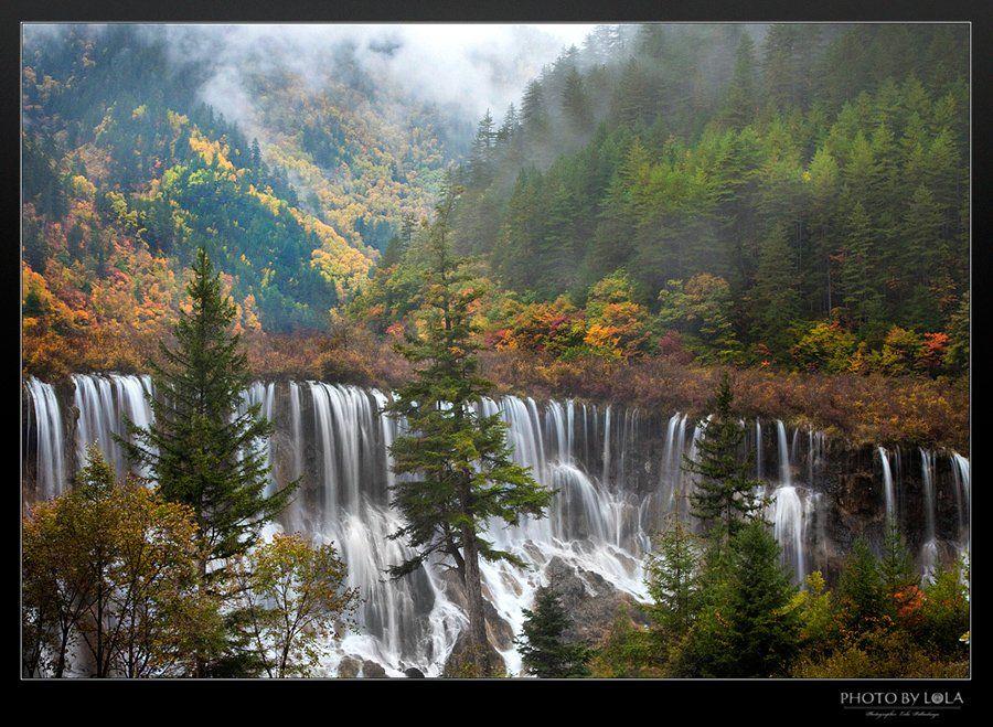 водопад, сычуань, Пидлуская Лола