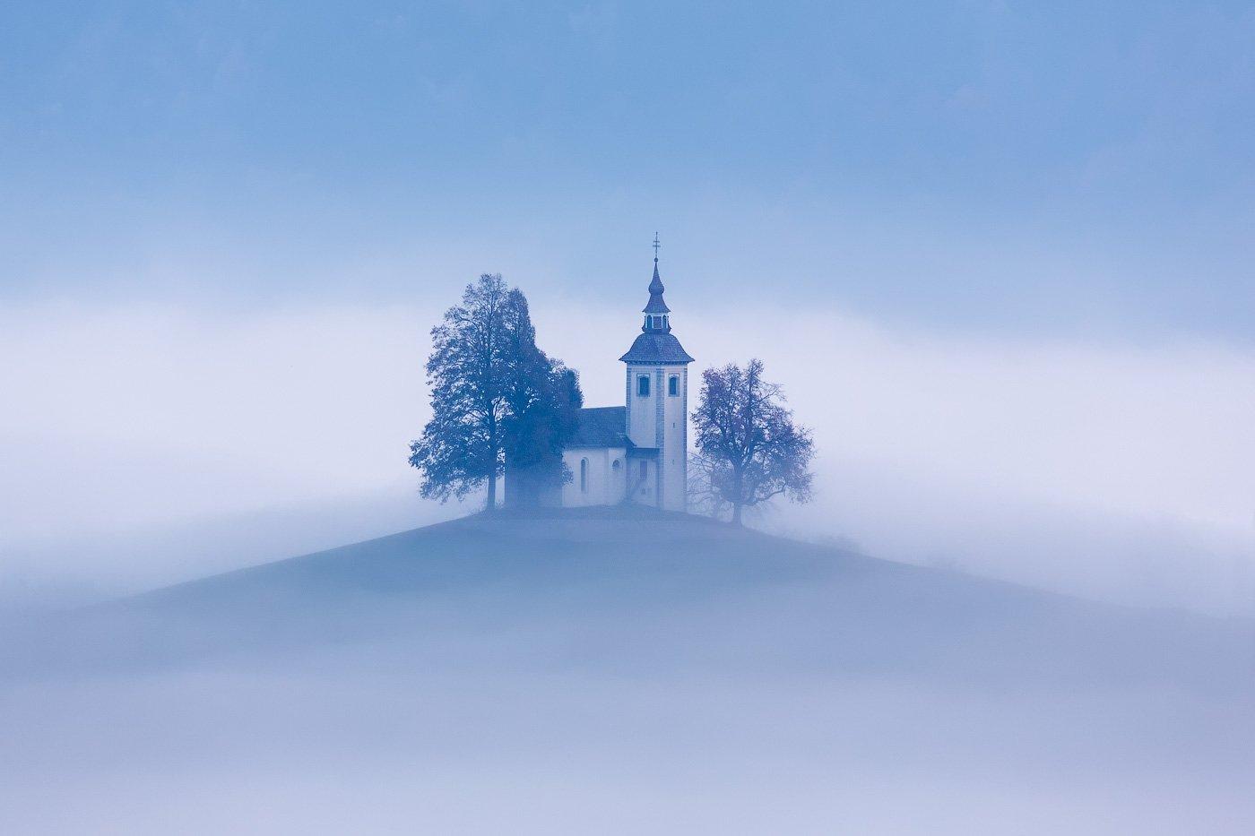 slovenia, словения, туман, Шевченко Юрий