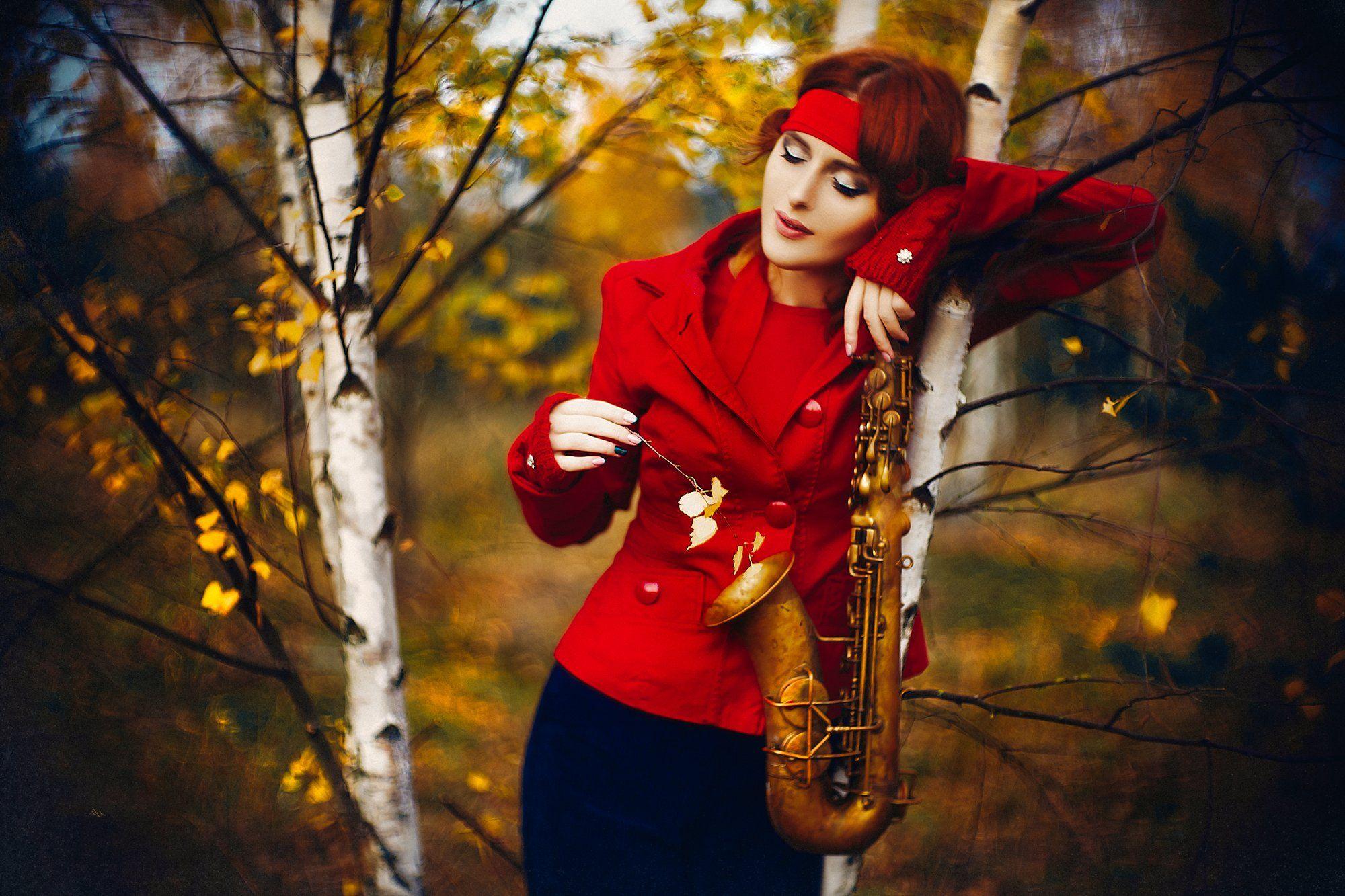 woman, art, portrait, fashion, beauty, natural light, autumn, colors, Руслан Болгов (Axe)