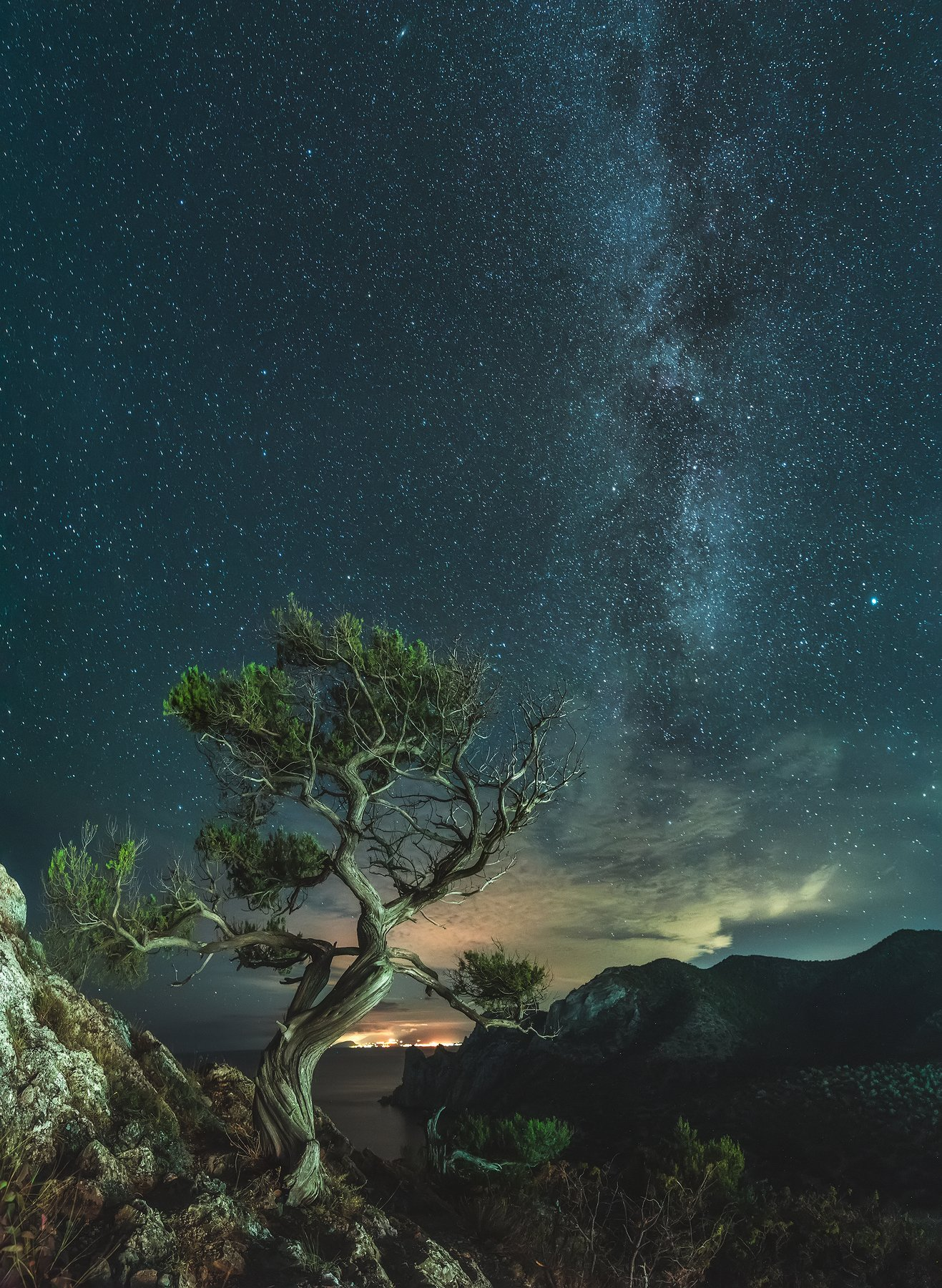 крым, новый свет, ночное фото, ночь, море, черное море, астрофотография, crimea, novyi svit, night photo, night, sea, black sea, astrophotography, Алексей Юницын