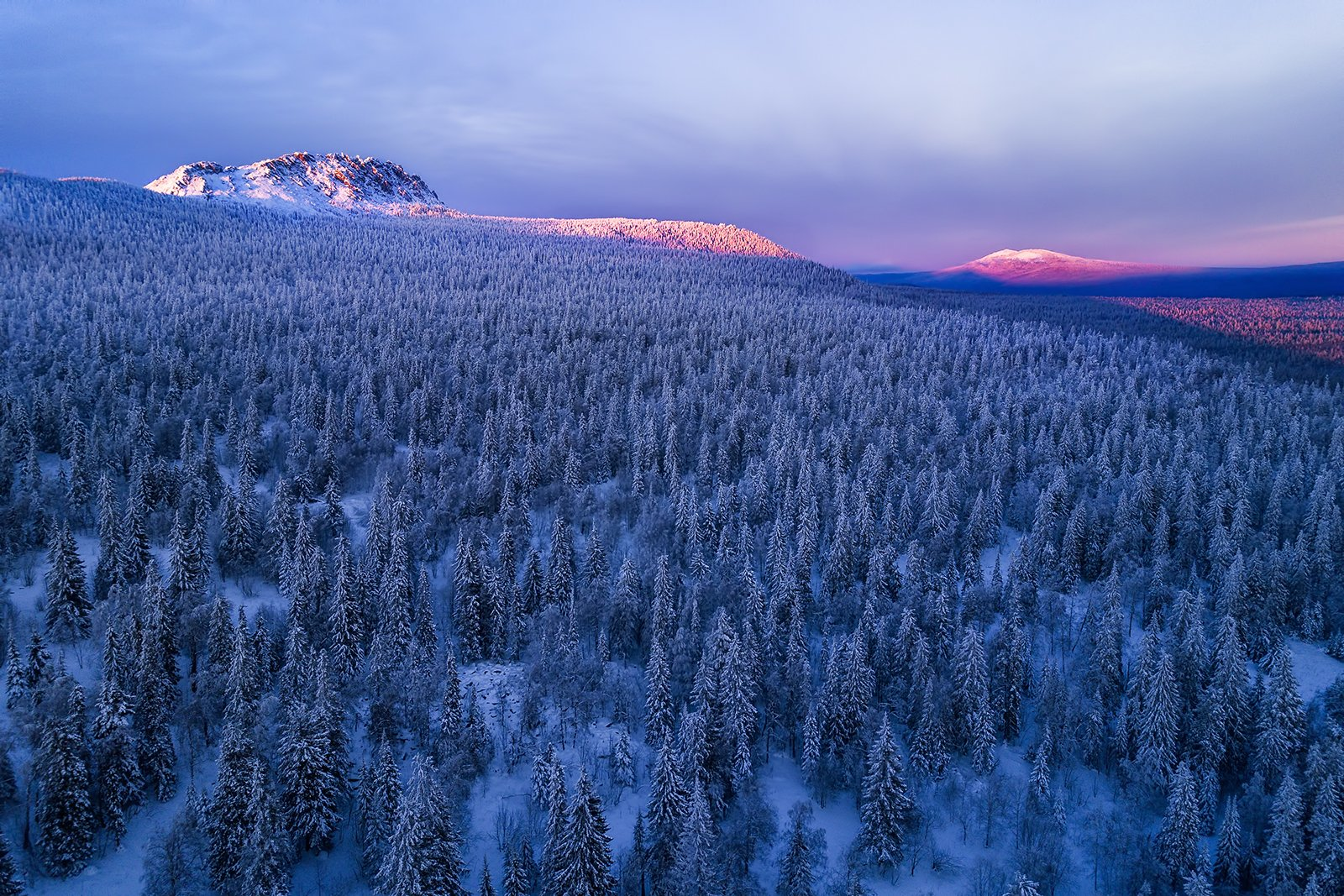 таганай, зима, урал, горы, лес, Василий Яковлев