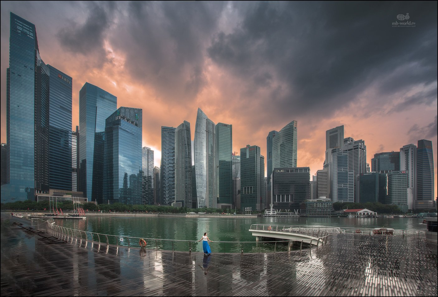 Сингапур, фототур, город, закат, Mikhail Vorobyev