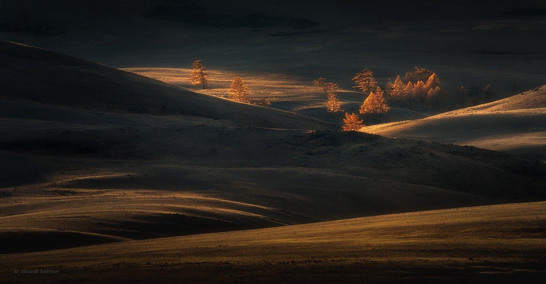 пейзаж, алтай, горы, Александр Кукринов