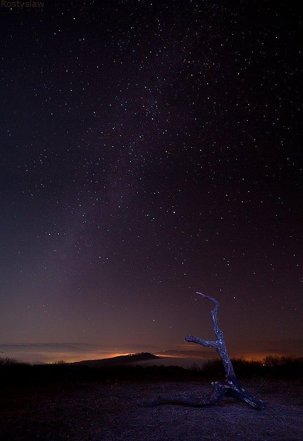 ростислав,  10-22мм, звезды, ночное небо, Ростислав