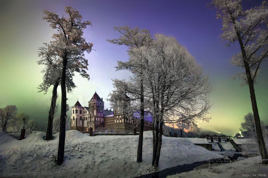 беларусь, мир, замок, дворец, архитектура, Sergey-Nik-Melnik.by