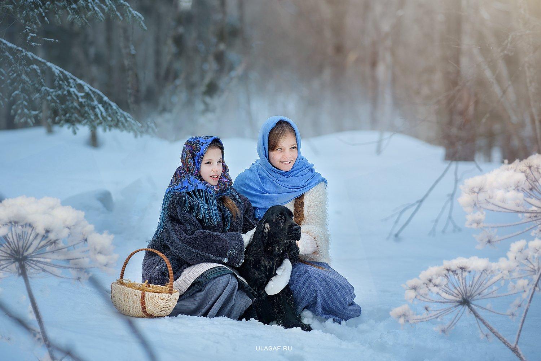 портрет, зима, winter, дети, прогулка, фотосессия на природе, девочка, детские фото, girl, животное, собака, dog, смех, эмоции, малыш, ребенок, друзья, happy, фотопрогулка, любовь, love, happiness, сказка, волшебство, Юлия Сафо