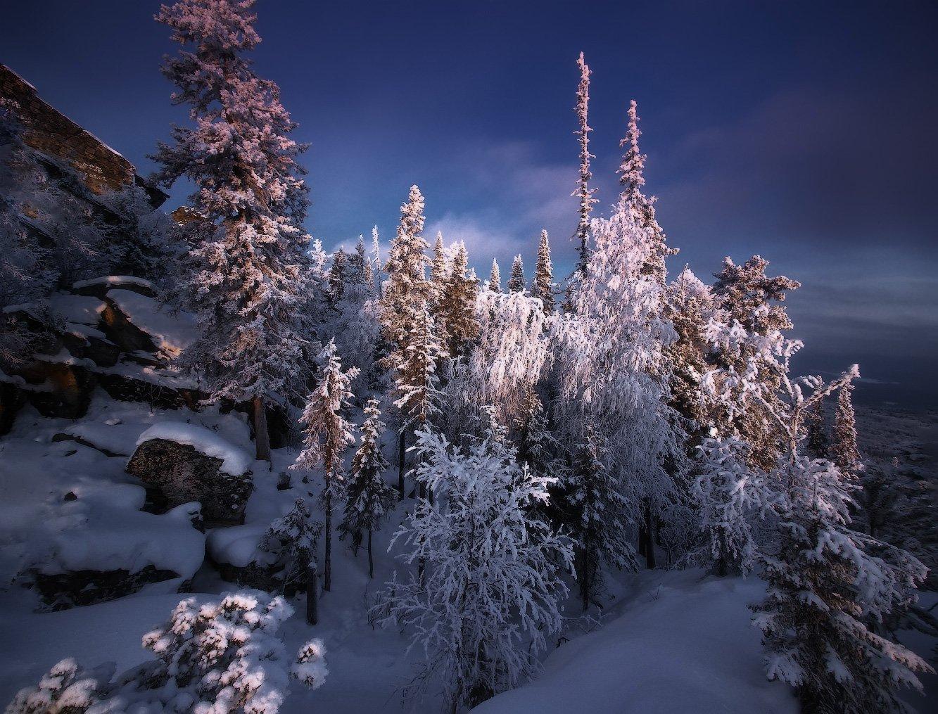 урал, горы, малиновая, белорецк, зима, уральскиегоры, Владимир Ляпин