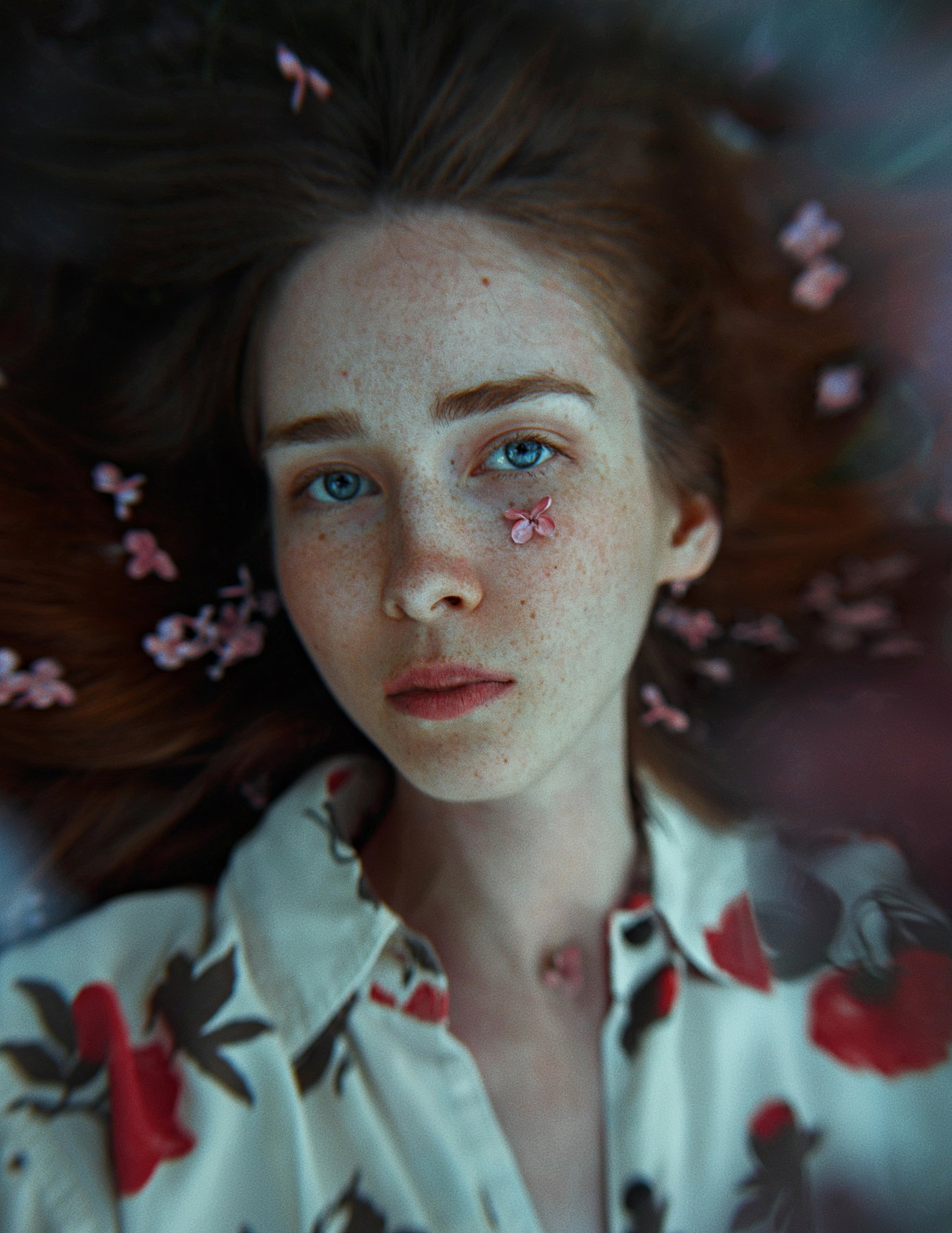 portrait, портрет, girl, redhair, portraiture, outdoor, девушка, молодость, май, весна, spring, lilac, retouch, ретушь, цвет, сирень, Фишар Павел