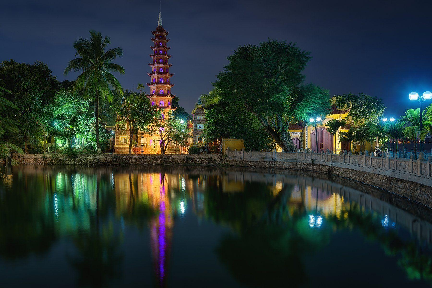 hanoi, vietnan, pagoda, ханой, вьетнам, Курмышов Иван