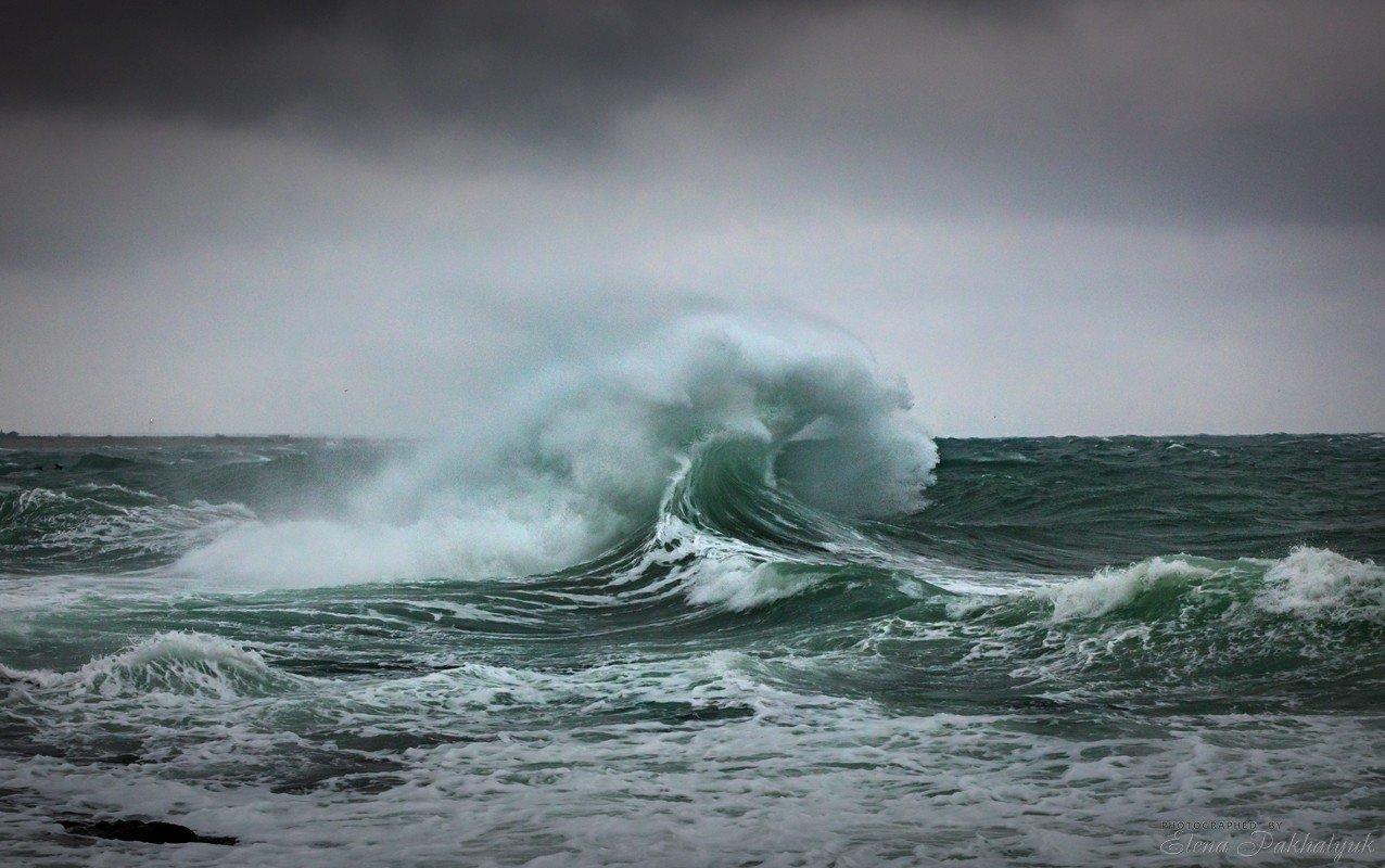 море,крым,пейзаж,шторм,россия,фототур,волна,волны,природа, Elena Pakhalyuk