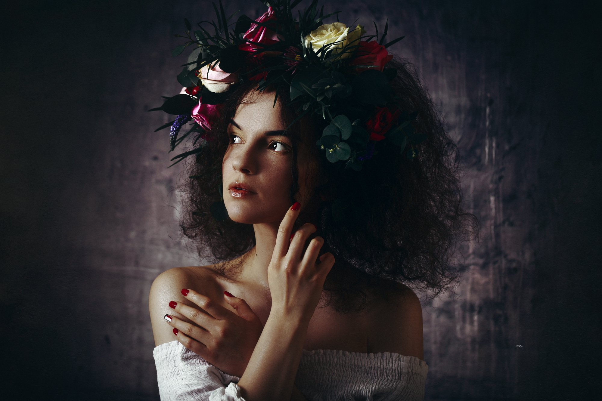 woman, beauty, art, studio, light, portrait, Руслан Болгов (Axe)
