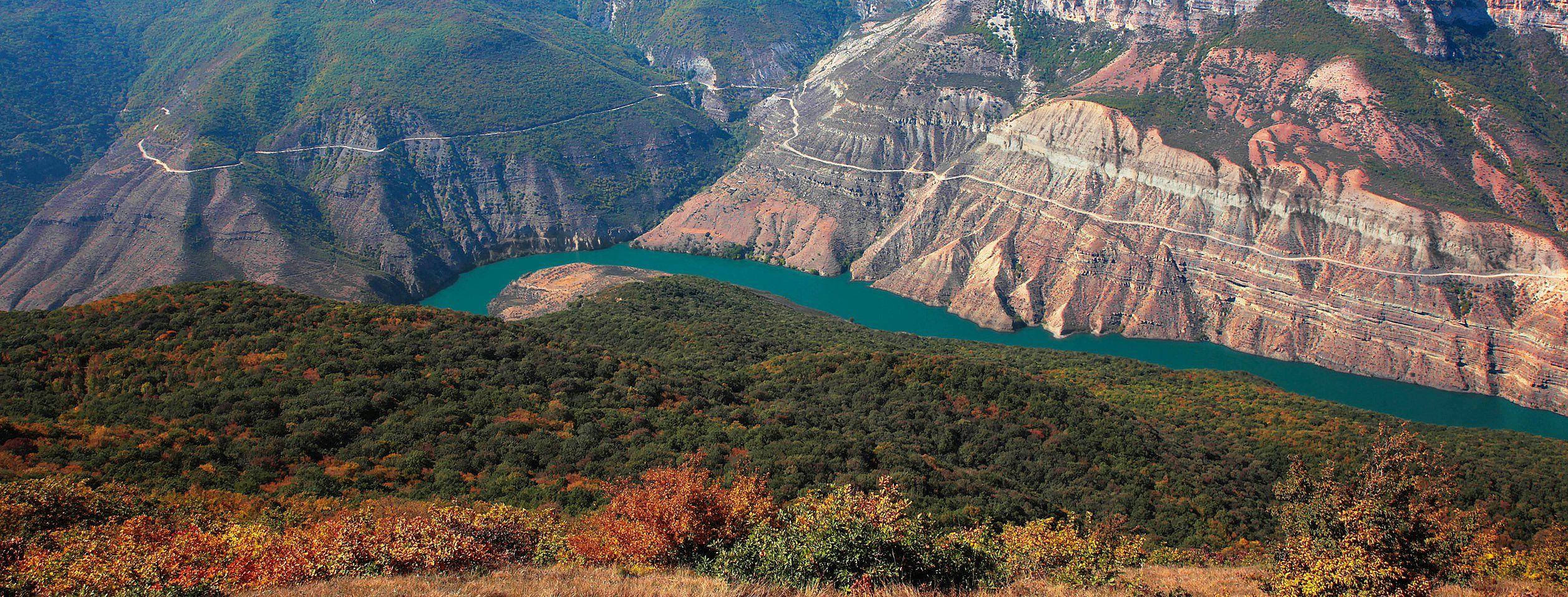 сулакский каньон,горы,река,лето,дагестан., Magov Marat
