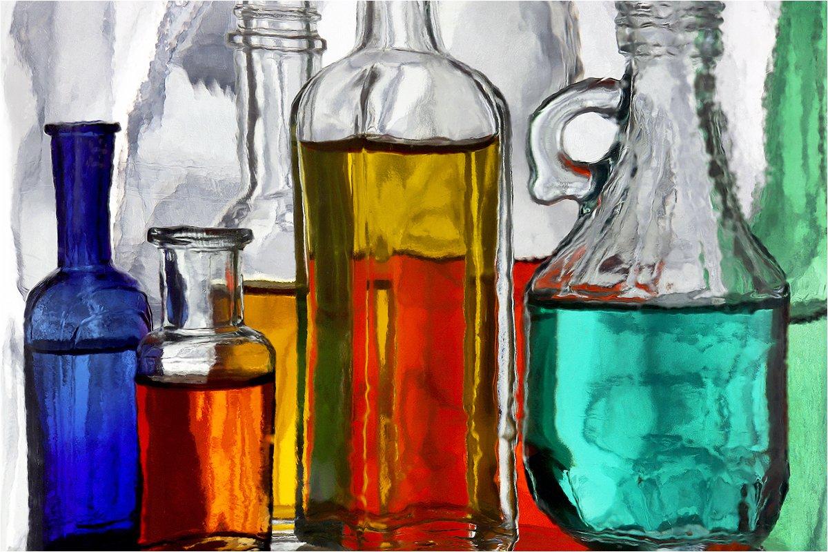 стекло, бутылка, бутылки, натюрморт,, Victor Pechenev