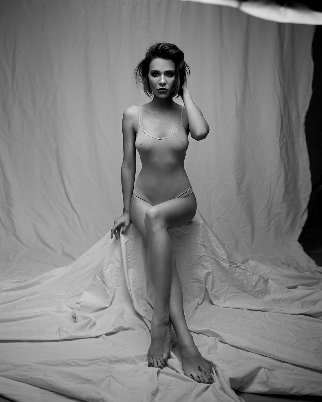девушка, тело, стройность, портрет, чб, красота, сексуальность, Рузина Тина