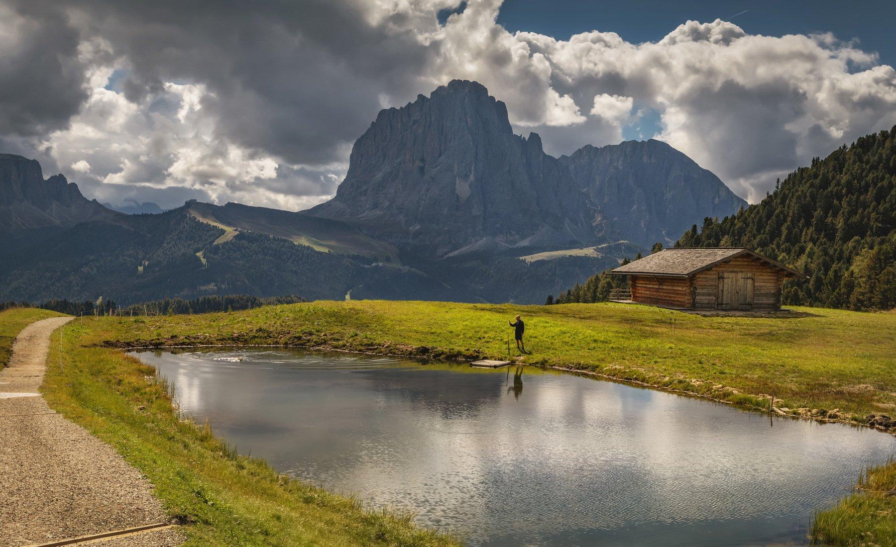 горы, альпы, италия, Alexandr Bezmolitvenny