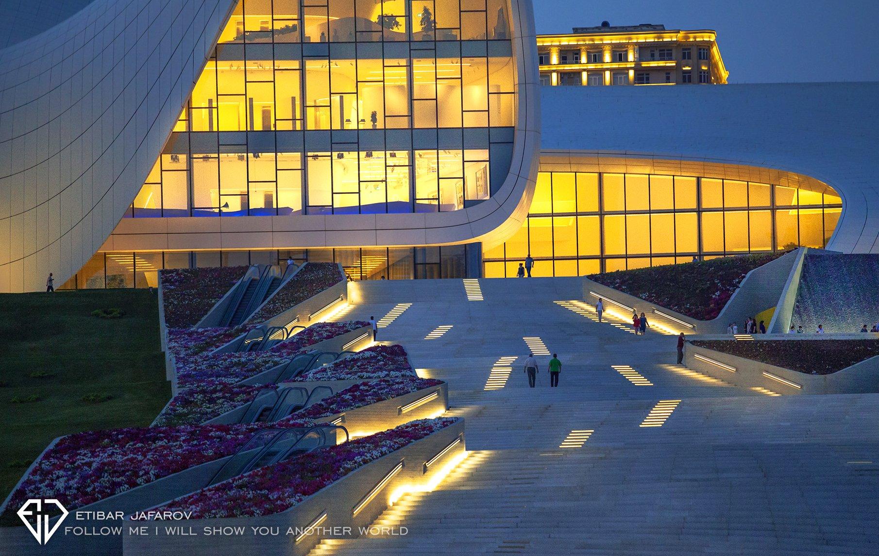 Heydar Aliyev Center, azerbaijan,baku,baki, ETIBAR