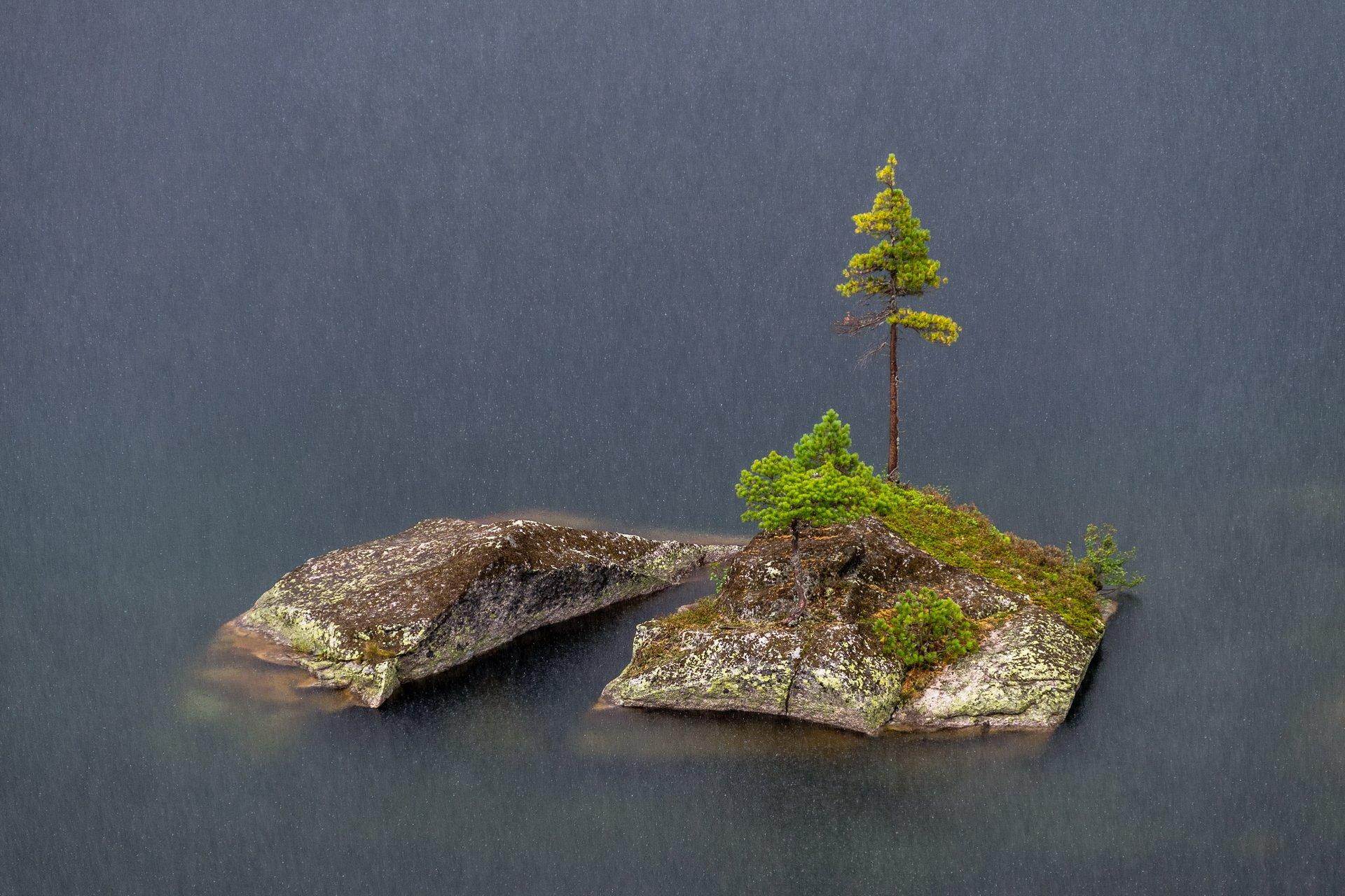 горы, сибирь, саяны, западный саян, ергаки, левень, дождь, вода, озеро художников, Васильев Николай