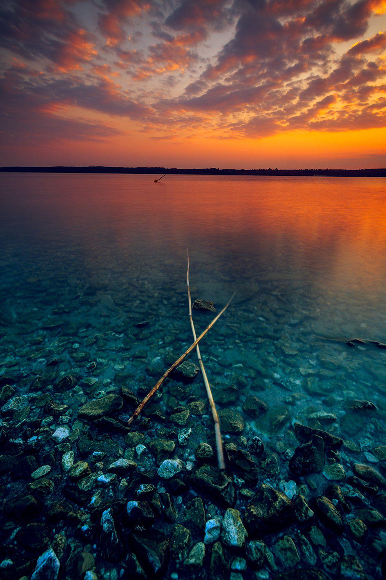 landscape, seascape, baltic sea, sunset, Руслан Болгов (Axe)