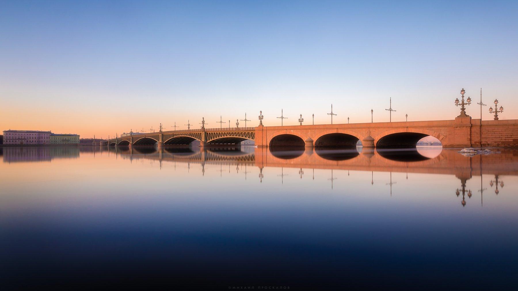 Мост, город, архитектура, Михаил