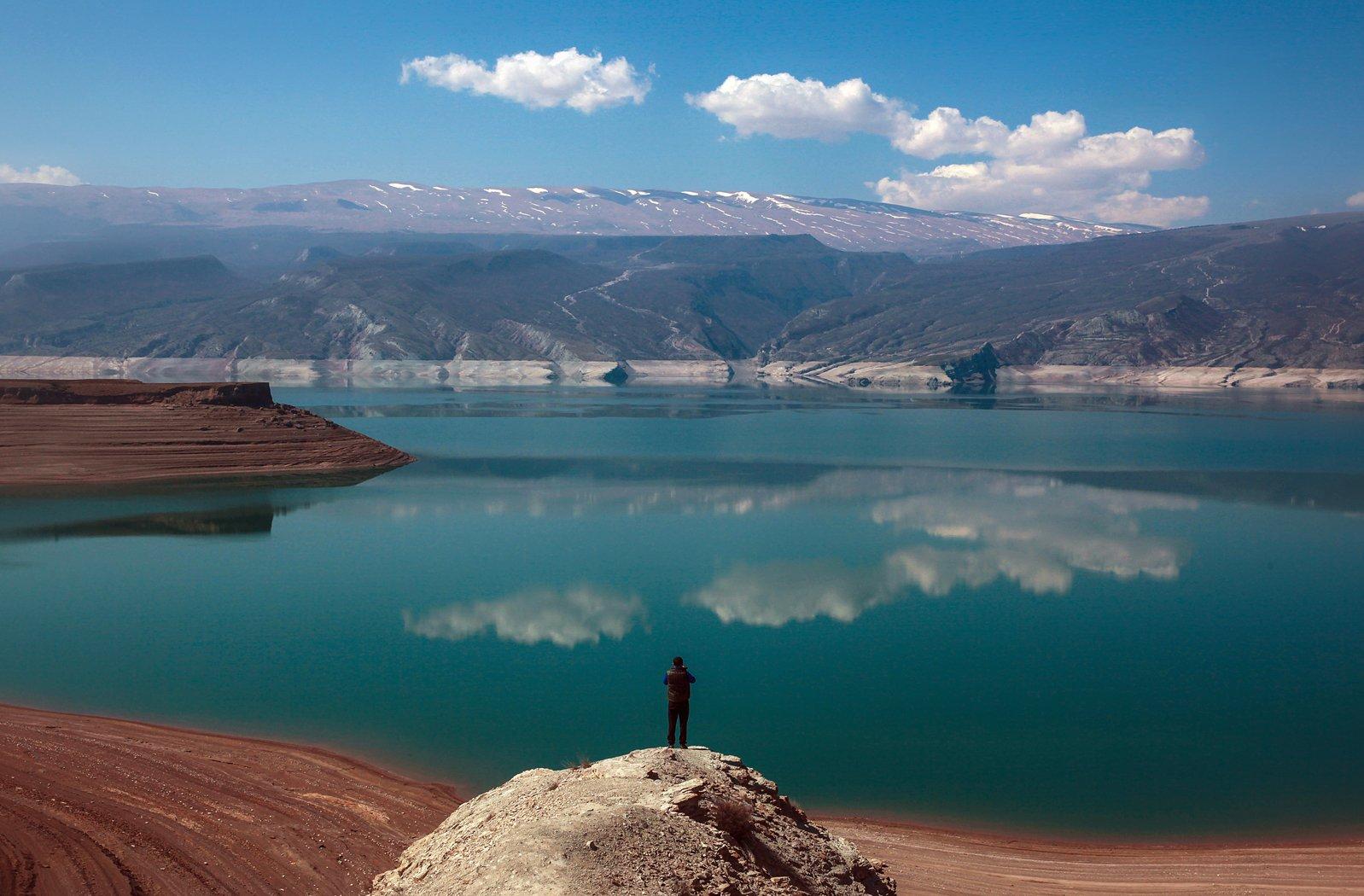 ирганайское водохранилище,горы,дагестан,,пейзаж, Magov Marat