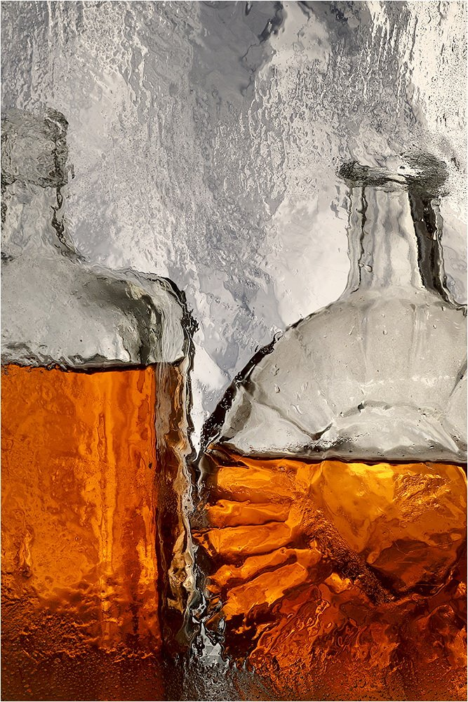 бутылка, стекло, натюрморт,, Victor Pechenev