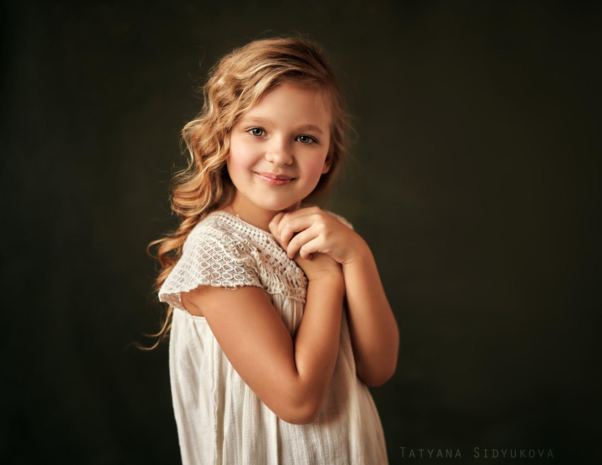 девочка, красивая, блондинка, красивый портрет, портрет, tanyasid, Татьяна Сидюкова