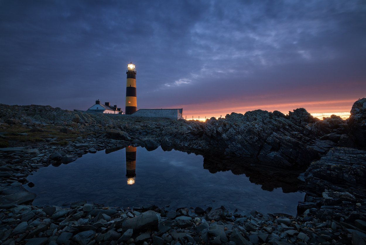 ireland, lighthouse, Alex Yurko
