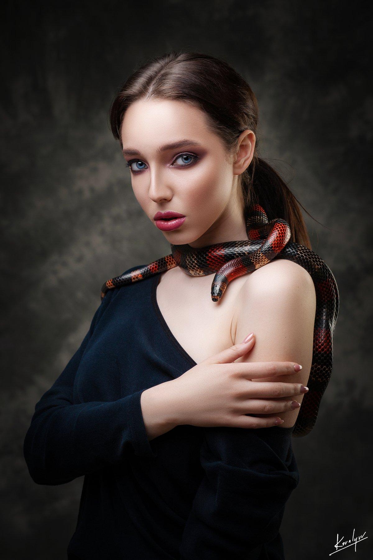 портрет, девушка, бьюти, ретушь, Ковалёв Иван