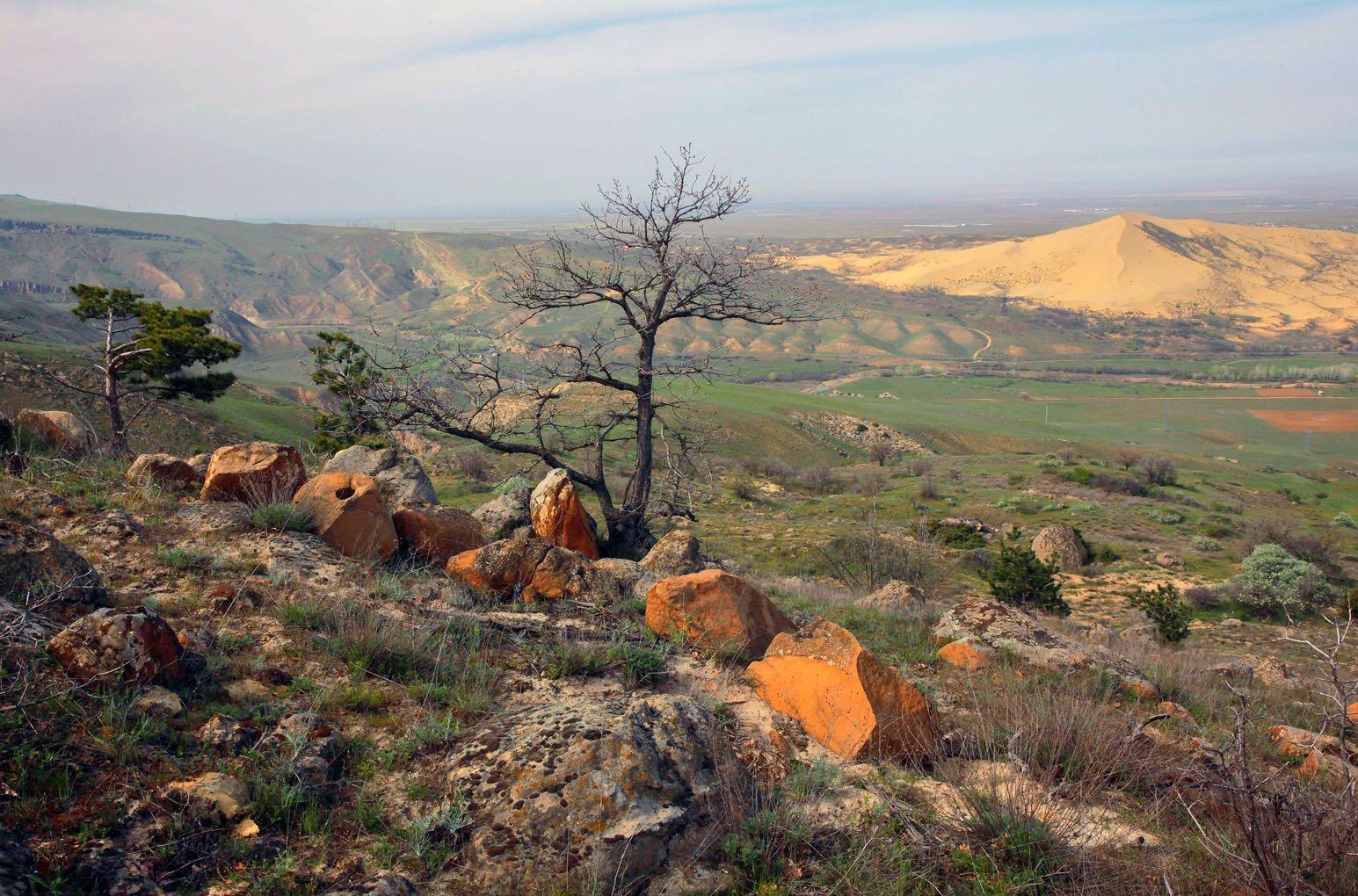 горы,весна,просторы,дагестан,песчаная гора., Magov Marat