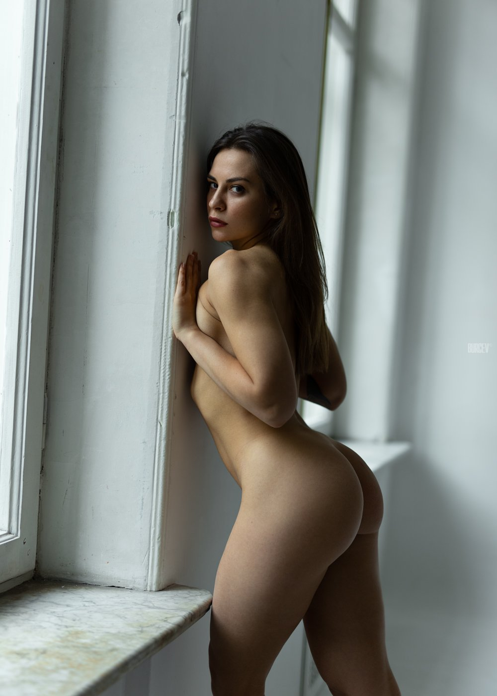 фотомодель, портрет, девушка, красивая, взгляд, woman, beautifull, portrait, canon6d, nude, sexy, fashion, red, Алексей Бурцев