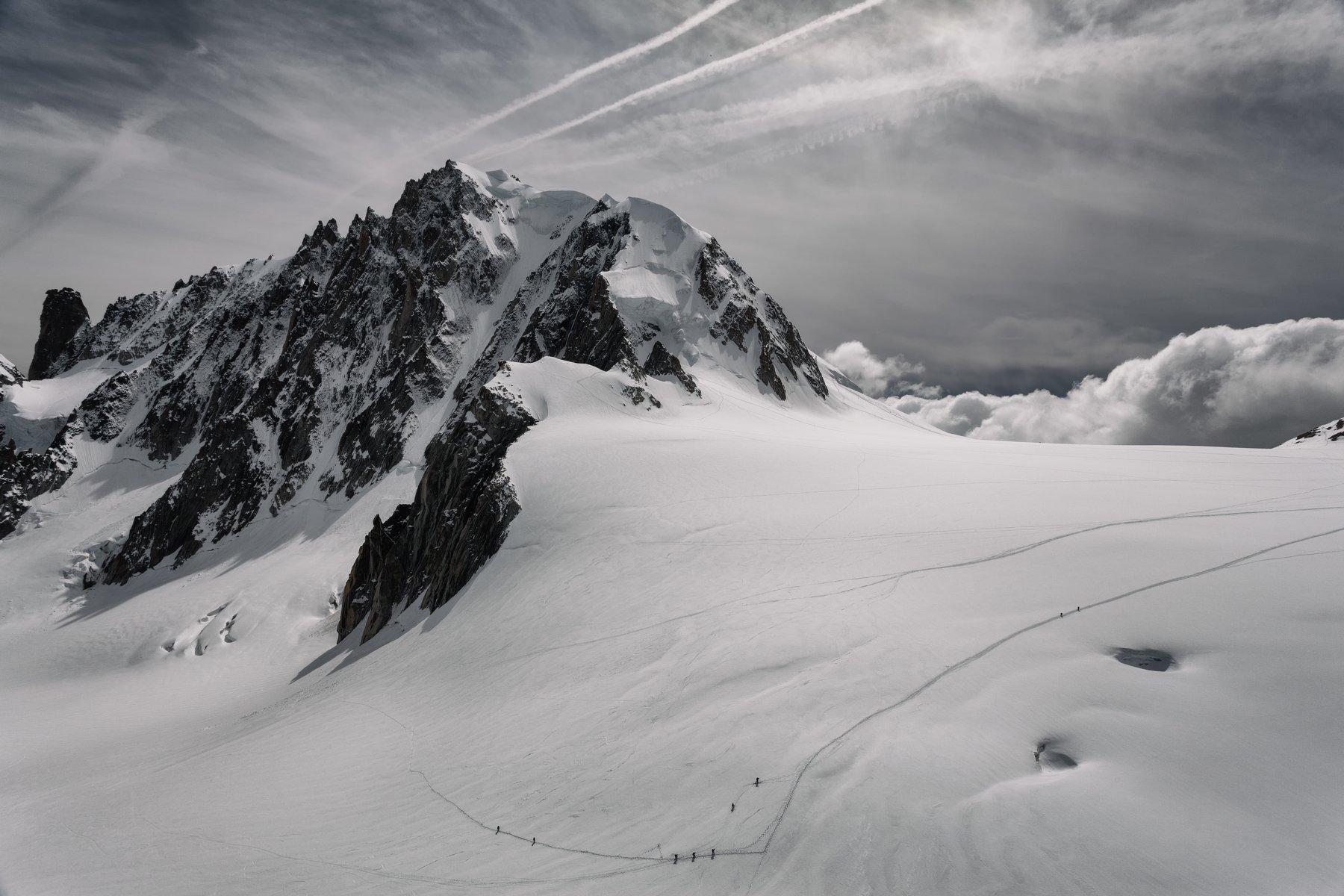 альпы, снег, франция, Alexandr Bezmolitvenny