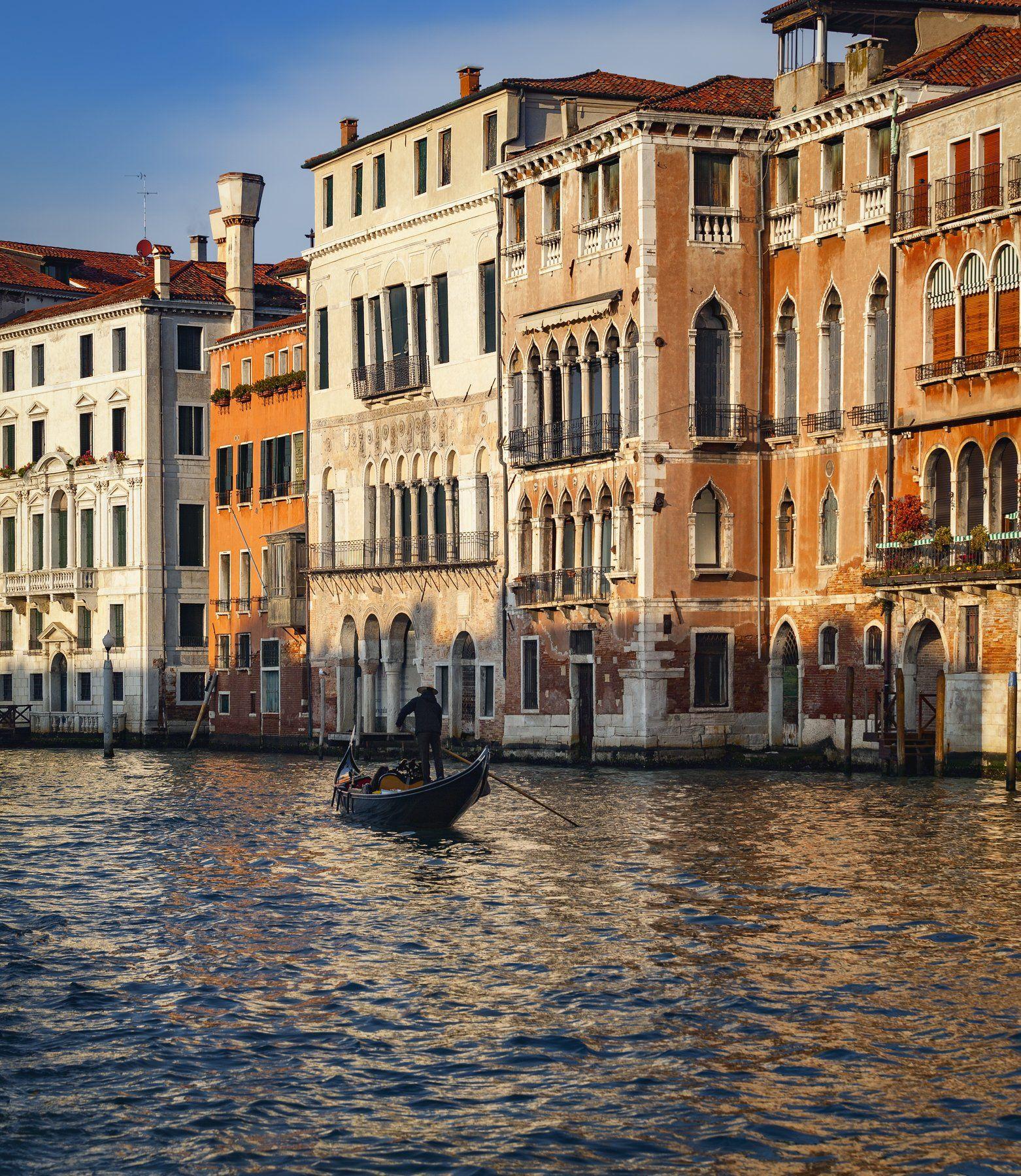 венеция, италия, канал, Alexandr Bezmolitvenny
