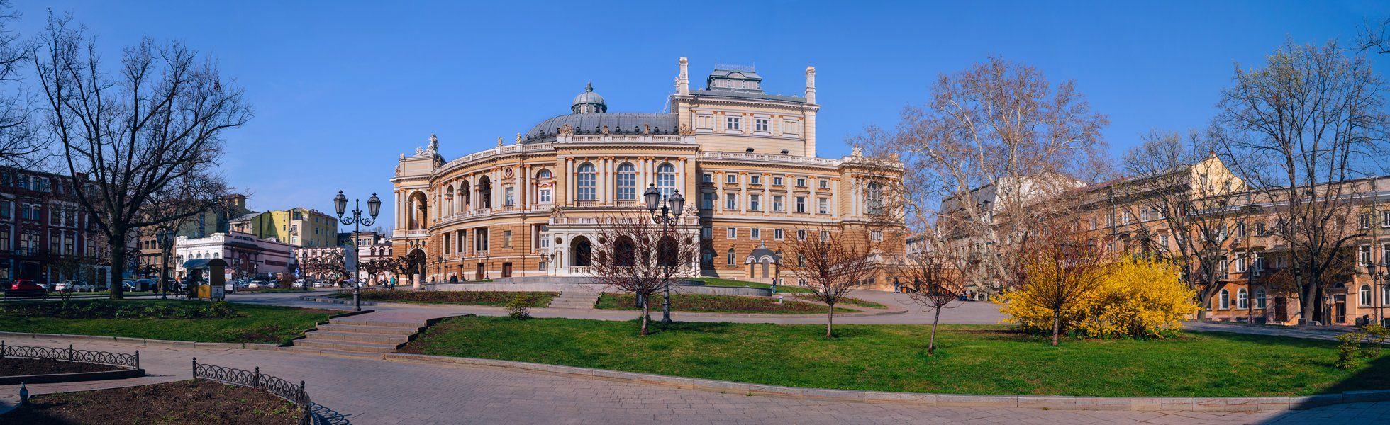 город, весна, одесса, театр, оперный, Галанзовская Оксана