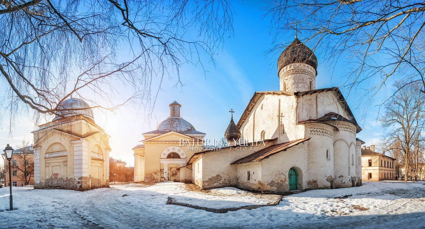 псков, старо-вознесенский монастырь, планетарий, Юлия Батурина