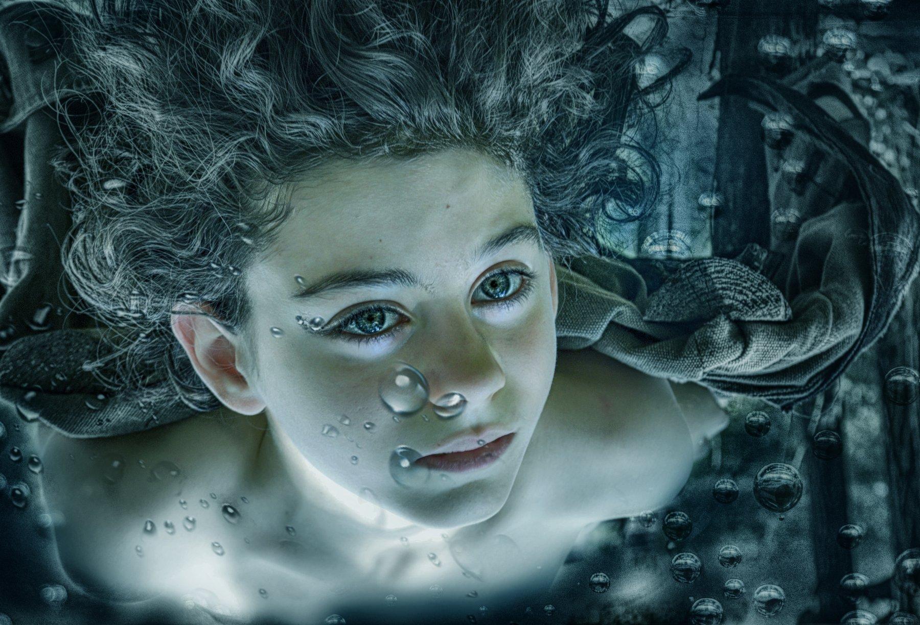 Aquamen,  Aqua, boy,  Head, Human, Face, Person, Outdoors, Nature, Water ,Photography ,Photo, Portrait ,Hair, Аквамен, Аква, мальчик, Человек, Лицо, Воды, Фотография, Фото, Портрет, Teodora Sarbinka